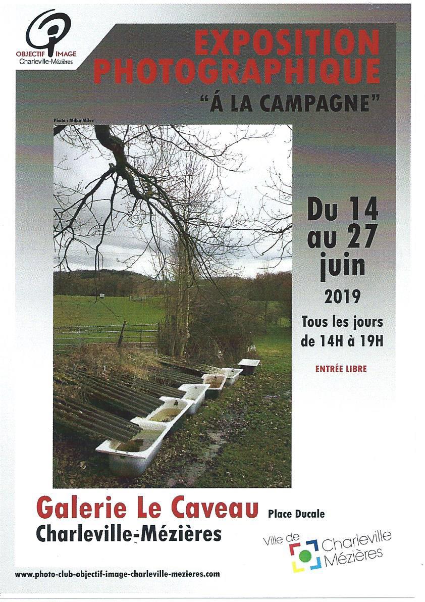 affiche expo la campagne 2019