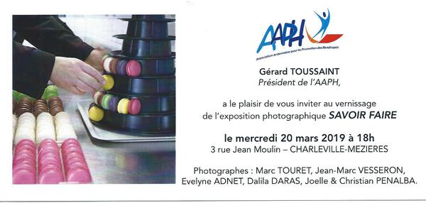 invitation vernissage AAPH